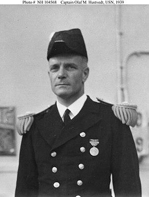 Olaf M. Hustvedt - Image: Olaf M. Hustvedt in dress uniform
