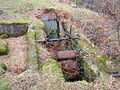 Old Waterwheel and pit, Glen Sannox, Isle of Arran.JPG