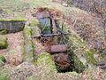 Old Waterwheel and pit, Glen Sannox, Isle of Arran.JPG