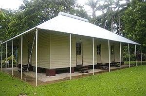 George Brown Darwin Botanic Gardens - Oldest surviving building in Darwin
