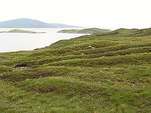 "Harris, Scotland - Old feannagan, or ""lazy beds"" on North Harris"