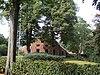 foto van Oldambster boerderij met lang schuurdak en voorhuis met krimpen