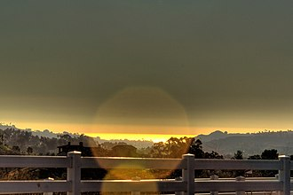 Olivenhain, Encinitas, California - Image: Olivenhain CA view of Pacific Ocean