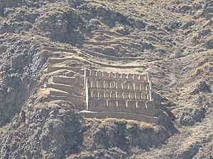 Pinkuylluna - Image: Ollantaytambo, Peru 2