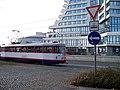 Olomouc, Jeremenkova, značky u přejezdu, Regionální centrum.jpg