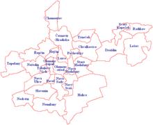 Tři města wa připojení