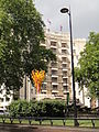 Olympic Flare ^ Torch in front of the Dorchester Hotel, Park Lane.jpg