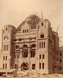 The Legislative Building Being Constructed 1891