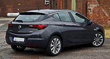 Opel Astra 1.4 EDIT Edition (K) – Heckansicht, 31. Juli 2016, Düsseldorf.jpg