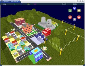 OpenCity - Image: Opencity 0.0.3 textured terrain