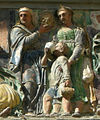 Opere di misericordia 07, Filippo di Lorenzo Paladini, dar da bere agli assetati, 1586, dett 03.jpg