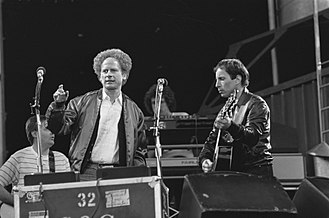 Art Garfunkel - Garfunkel with Paul Simon in the Netherlands, 1982