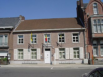 Opwijk - Image: Opwijk Gemeentehuis Bldg 1