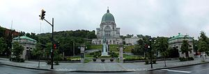 Queen Mary Road - Saint Joseph's Oratory is located on Queen Mary Road.