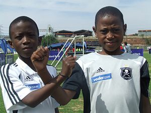 Orlando Pirates - Orlando Pirates youth team players.