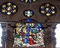 Orsanmichele, annuncio a gioacchino, vetrata su disegno di lorenzo monaco, 1409-10.JPG
