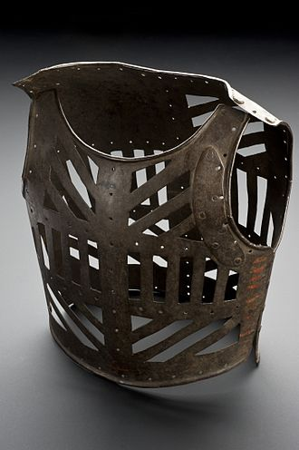 Metal corset - Orthopaedic corset for a child. Iron. Europe, 1801–1880.