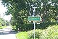 Ortshinweistafel Poppenwurth, Gemeinde Oesterwurth, 2005.jpg