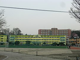Osan High School and Osan Infomation High School.JPG