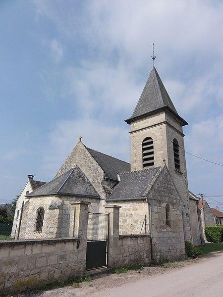 Osly-Courtil (Aisne) Église