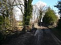 Owler Car Lane and Gated Entrance into Owler Car Wood - geograph.org.uk - 351787.jpg