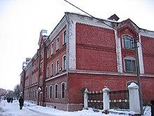 Eine der alten textilfabriken