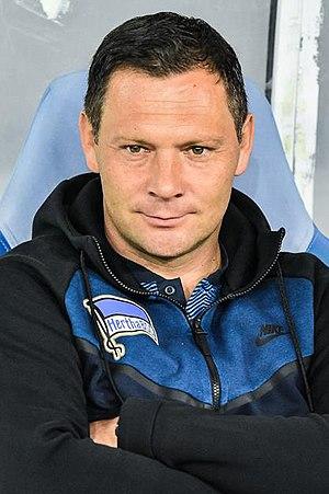 Pál Dárdai - Dárdai as a Hertha coach in 2017