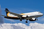 P4-RLA Airbus A319-133X CJ A319 - System Capital (21759326095).jpg