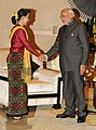 PM Modi and Aung San Suu Kyi at Nay Pyi Taw, Myanmar.jpg