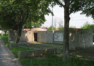 Trail of Remembrance and Comradeship - Remains of an Italian military bunker in the Šiška District