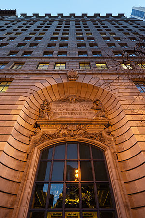 Pacific Gas and Electric Company - Image: Pacific Gas and Electric Company General Office Building