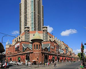 Haymarket, New South Wales - Sydney Market City building