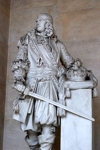 Henri de la Tour d'Auvergne, Vicomte de Turenne - Statue of Turenne in Versailles