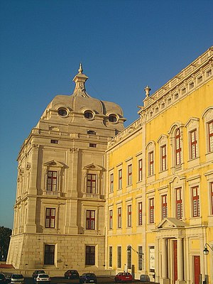 Mafra, Portugal - Image: Palácio Nacional de Mafra 2