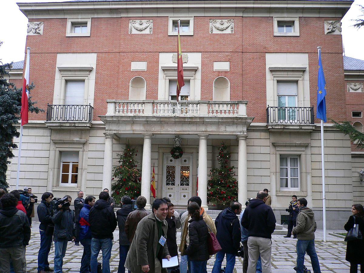 Palacio de la moncloa wikipedia la enciclopedia libre for Sede de la presidencia de la comunidad de madrid