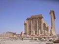 Palmyra (Tadmor), Cella des Baal-Tempels (37819448405).jpg