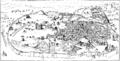 Panorama över Rom från 1400-talet, Nordisk familjebok.png