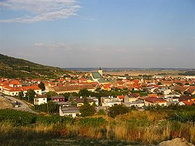 Photo panoramique de Svätý Jur