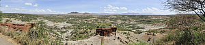 Olduvai Gorge - Panoramic view