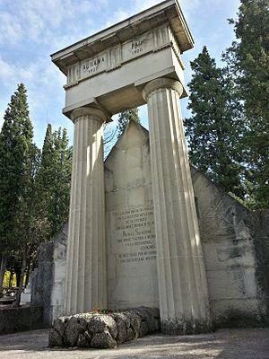 Nicolás Salmerón y Alonso - Pantheon of Nicolás Salmerón