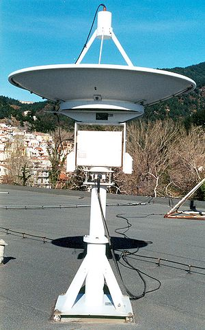 Weather satellite - Computer-controlled motorized parabolic dish antenna for tracking LEO weather satellites.