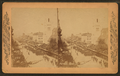 Parade. Arch Street, Philadelphia, Pa, from Robert N. Dennis collection of stereoscopic views.png