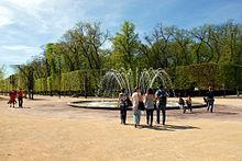 parc Blossac à Poitier