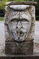 Parco di pratolino, fontana con mascherone 03.JPG
