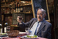 Paris - Old Parisian enjoying dinner - 4495.jpg