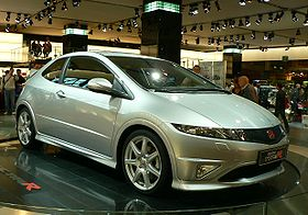 Paris 2006 - Honda Civic type R.JPG