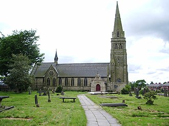 Little Hulton - St Paul's Church, consecrated in December 1876