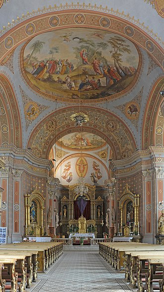 1796 in architecture - Parish church of Urtijëi