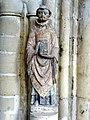 Parnes (60), église Saint-Josse, statue de saint Josse, premier quart XIVe siècle.jpg