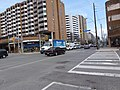 Parts of panoramas of intersections where there will be Eglinton Crosstown LRT stations, GPS embedded, taken 2013 04 25 (5) (8682266622).jpg
